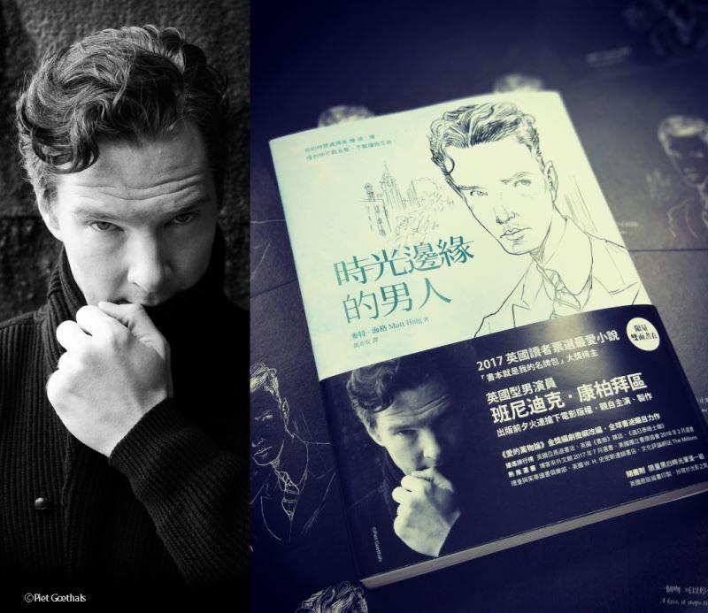 最近出版的小說「時光邊緣的男人」,因明星光環加持的封面設計,未上市先轟動,連書腰都搶手。(寂寞出版提供)