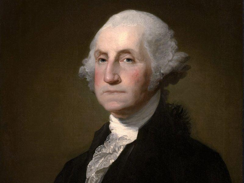 美國在台協會12日分享一篇名為「為什麼總統有任期限制是一件好事」的文章,內容提及「美國總統從1951年起便規定不得連任超過兩任,即使在1951年以前的總統,大多數都遵守美國國父喬治.華盛頓(圖)立下的典範。」(圖取自維基共享資源,版權屬公眾領域)