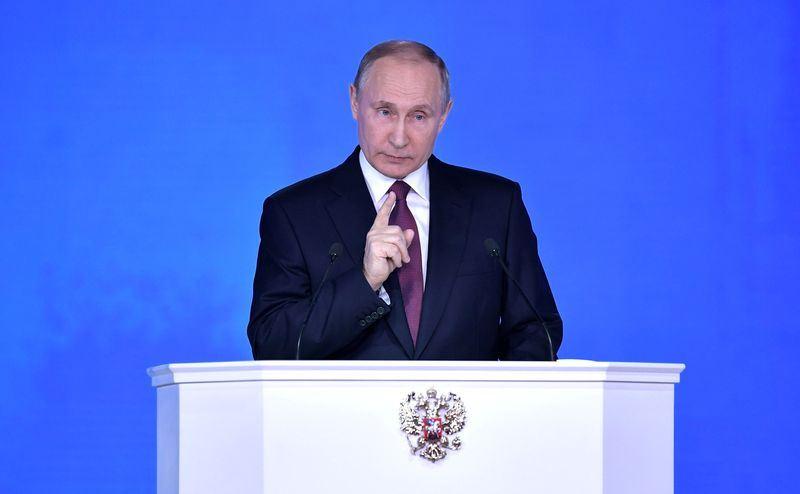 俄羅斯18日總統大選,雖然多名候選人已正式登記參選,但總統蒲亭擁有壓倒性支持。(檔案照片/安納杜魯新聞社提供)