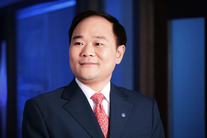 圖為中國吉利汽車董事長李書福。(圖取自李書福微博weibo.com/2813038723)