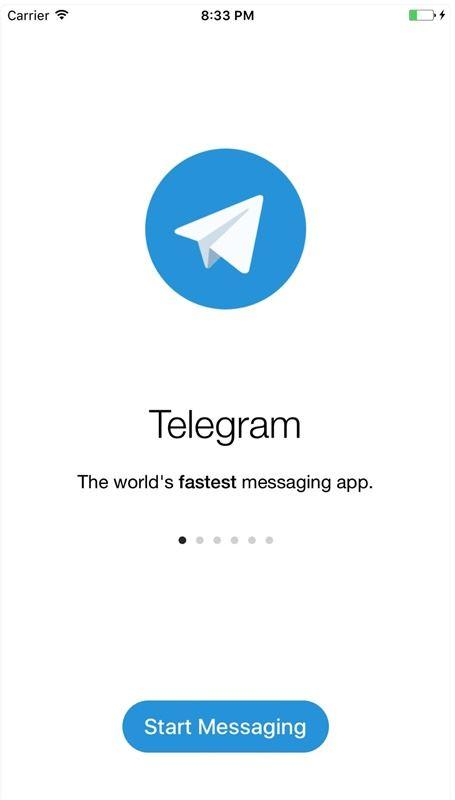 圖為通訊軟體Telegram。(圖取自AppStore)