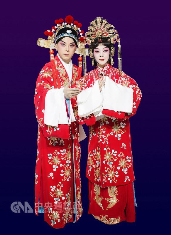 新編京劇「帝女花」由于魁智(左)和李勝素(右)主演,將率領中國國家京劇院來台演出。圖為宣傳劇照。(傳大提供)中央社記者汪宜儒傳真 107年5月13日