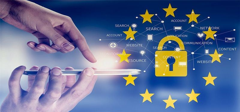 歐洲聯盟(EU)保護歐洲民眾個人資料的隱私新規則即將在25日上路。(圖取自Pixabay圖庫)