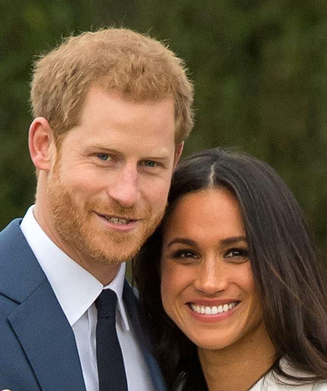 哈利王子與梅根馬克爾19日步入禮堂,全球民眾引頸期待。(圖取自英國王室官網 www.royal.uk)