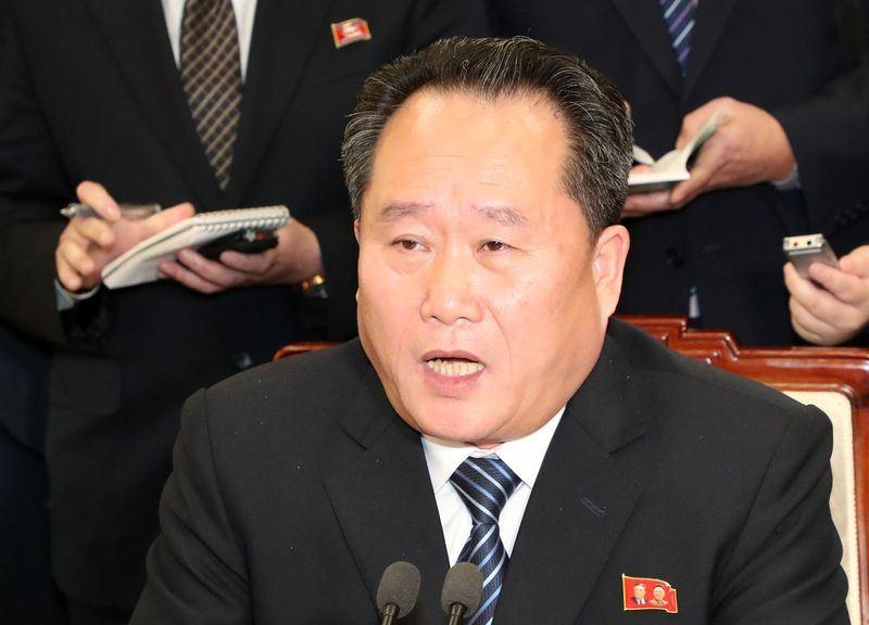 北韓祖國和平統一委員會委員長李善權17日譴責南韓與美國展開聯合空戰演習,並斥南韓政府「無知且無能」。(韓聯社提供)