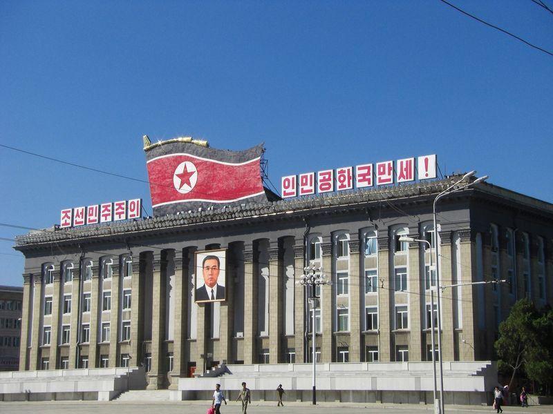 美國總統川普27日發推文表示,他相信北韓具潛力,有朝一日可成為經濟繁榮國家。圖為北韓勞動黨總部。(圖取自Pixabay圖庫)