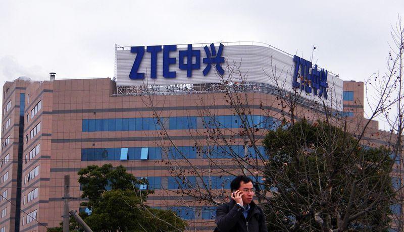 美國商務部7日宣布與中國的中興通訊達成和解。(檔案照片/中新社提供)