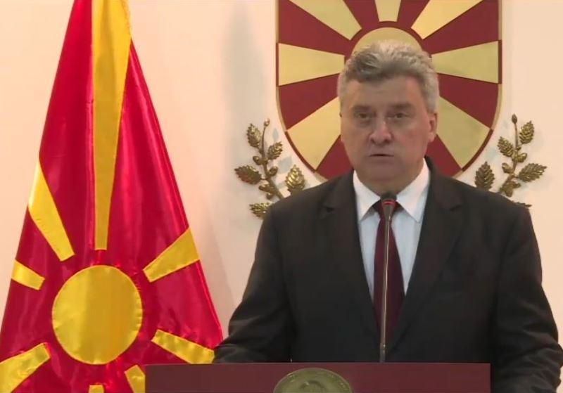 希臘與馬其頓12日達成協議,馬其頓將改為北馬其頓共和國。不過馬其頓總統伊凡諾夫13日表示,他不會簽這個協議。(圖取自GjorgeIvanov臉書www.facebook.com/macedonianpresident)