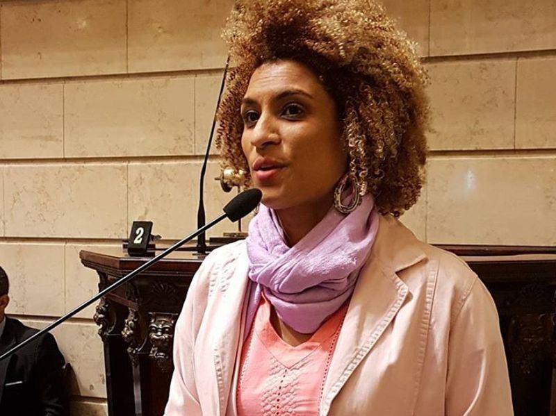 巴西里約熱內盧女市議員佛朗哥3月遭槍擊身亡。(圖取自MarielleFrancoInstagram網頁www.instagram.com/marielle_franco)