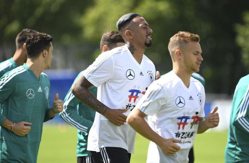 德國隊希望能在本屆世足賽再次舉起金盃,成為56年來首支連霸隊伍。(達志提供)