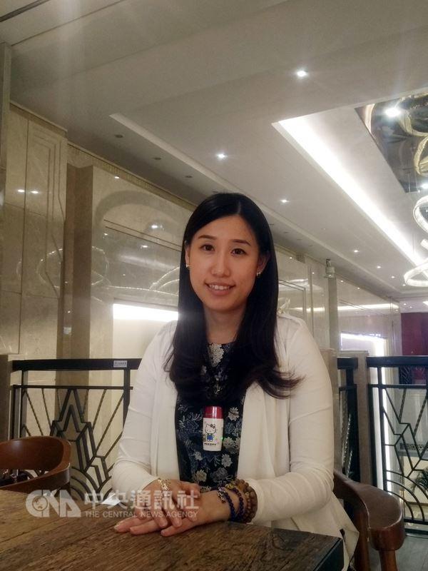 赴中國大陸求學或就業,要有何訣竅才能事半功倍?青年台商徐御格(圖)說,有心登陸者要注重人脈,也要接地氣,二者是成功的必備元素。中央社記者周慧盈北京攝  107年6月18日