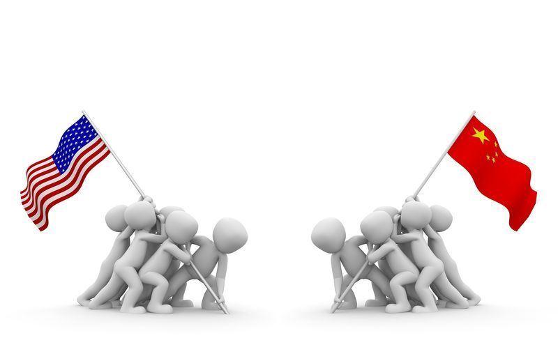 美中貿易戰正式開打。(圖取自Pixabay圖庫)
