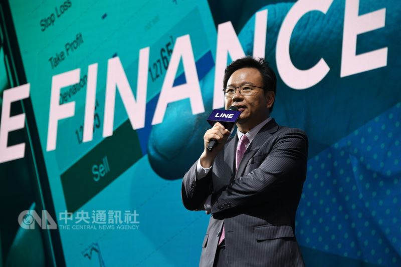 LINEBizPlus北亞金融董事總經理劉奕成告訴中央社記者,通訊軟體LINE為了在台灣開辦純網路銀行,正籌備新公司,希望幫助年輕人培養好的理財知識。(LINE提供)中央社記者吳家豪傳真 107年7月15日