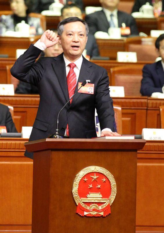 廣州市20日召開全市領導幹部大會時宣布,北京市紀委書記張碩輔出任廣州市委書記。(檔案照片/中新社提供)