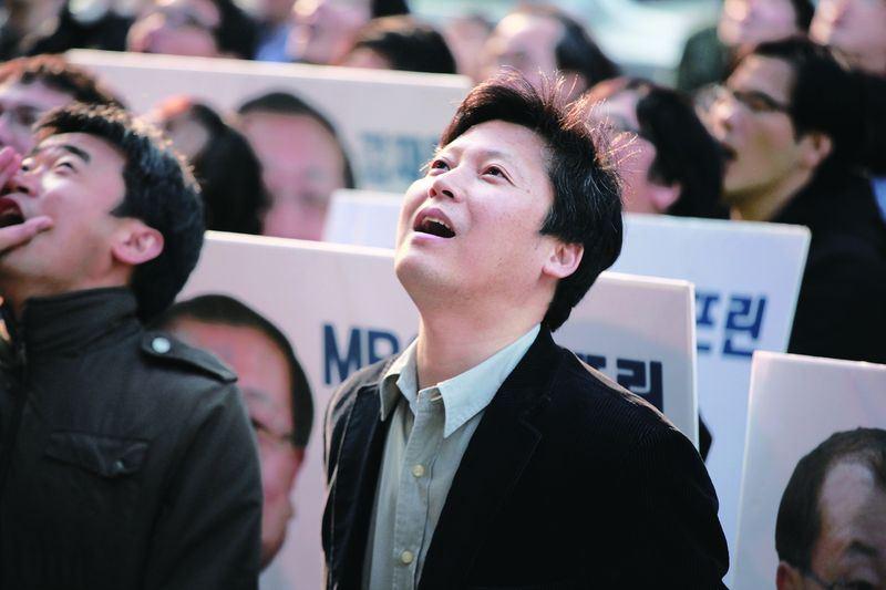 2012年為期170天的罷工現場,李容馬(圖)說當時他連退出工會自保的選項都沒考慮過。(大塊文化)