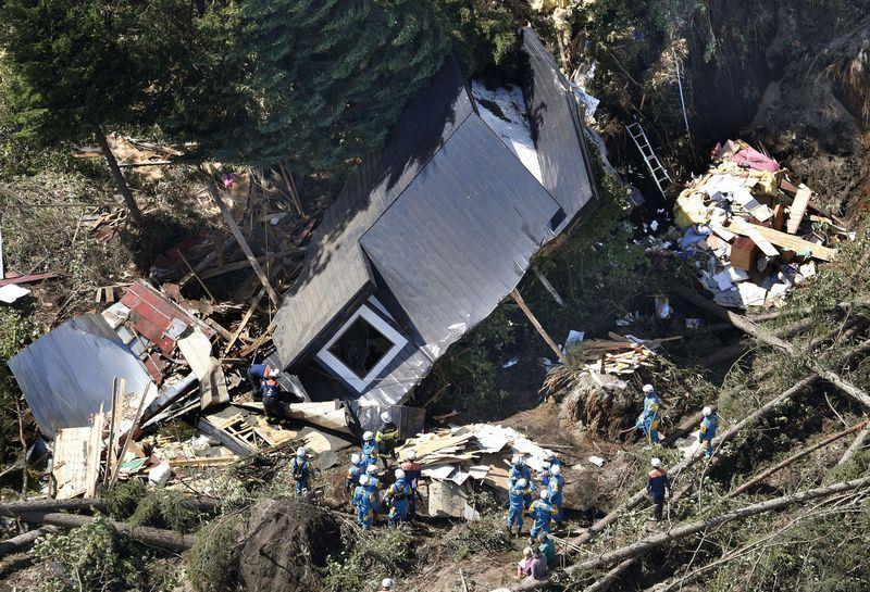 日本北海道6日凌晨觀測到6.7強震,已知9人死亡、28人失聯、305人受傷。(共同社提供)
