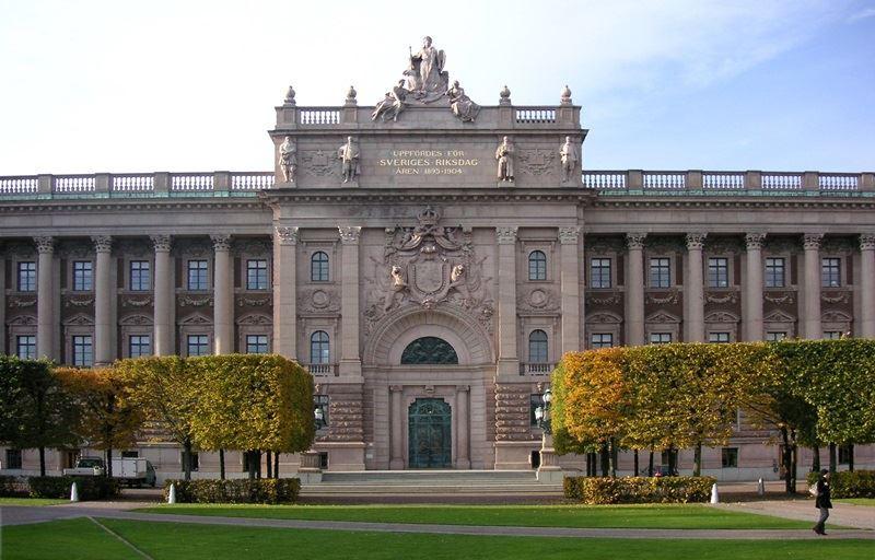 圖為瑞典國會大樓。(圖取自維基共享資源;作者:Holger.Ellgaard,CC BY-SA 3.0)