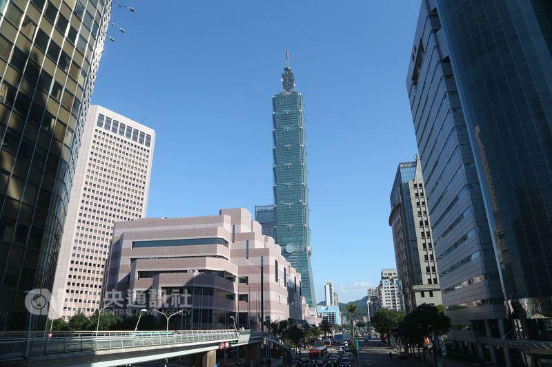 BBC選出過去10年來排名持續攀升的5個城市,台北榜上有名。圖為台北101大樓。(中央社檔案照片)