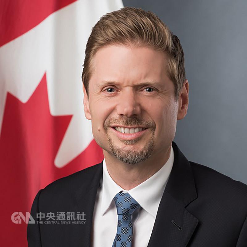 新任加拿大駐台代表芮喬丹表示,很高興再度回到台灣,未來希望促進加台人民交流,以及加強雙邊貿易關係。(加拿大駐台北貿易辦事處提供)中央社記者侯姿瑩傳真 107年9月11日