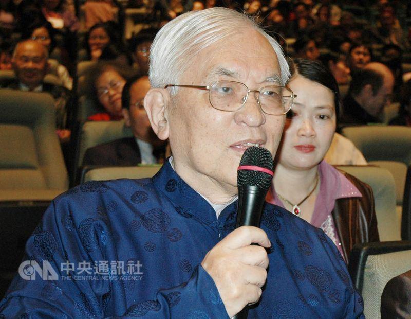 國立清華大學前校長、知名物理學家沈君山12日病逝,享壽87歲。(中央社檔案照片)