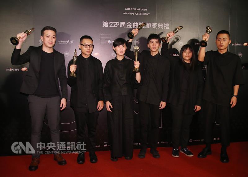 金曲28 草東大風吹獲選年度歌曲