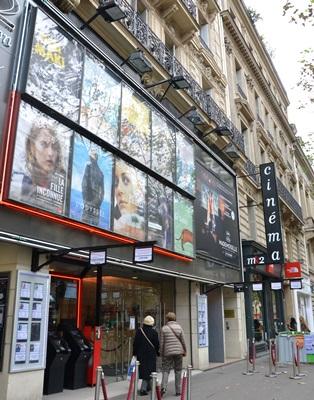 法國是全歐洲擁有最多放映廳的國家,法國街頭隨處可見電影院林立。